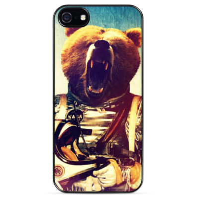 Чехол для iPhone Space Bear