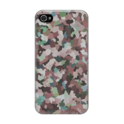 Чехол для iPhone 4/4s Кристаллики