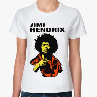 Классическая футболка Jimmi Hendrix