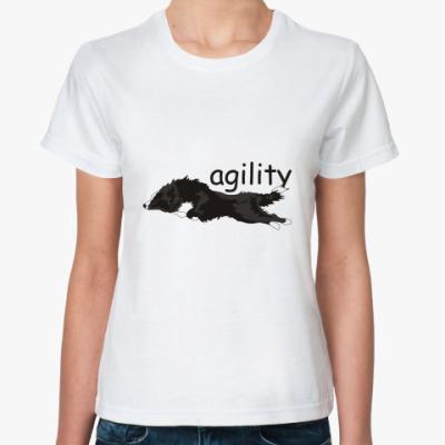 Классическая футболка agility