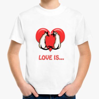 Детская футболка Сиамы