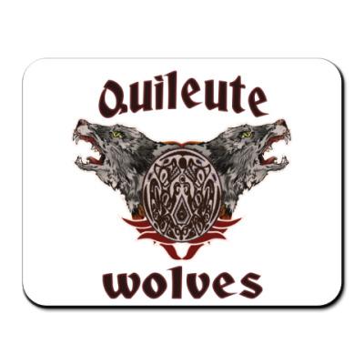 Коврик для мыши Quileute wolves