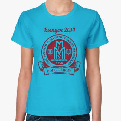 Женская футболка Выпуск первого меда