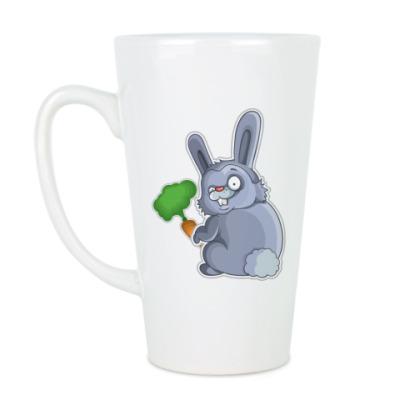 Чашка Латте Кролик