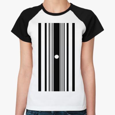 Женская футболка реглан Эффект Доплера