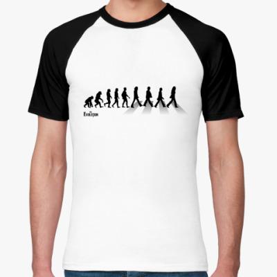 Футболка реглан Evolution  (Beatles)