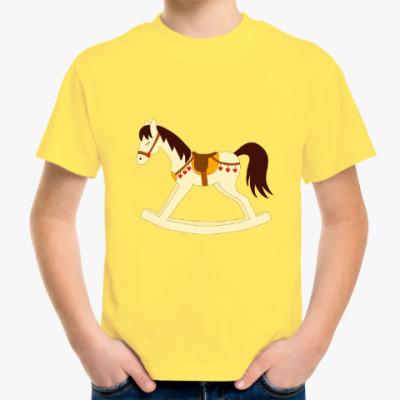 Детская футболка Rocking horse