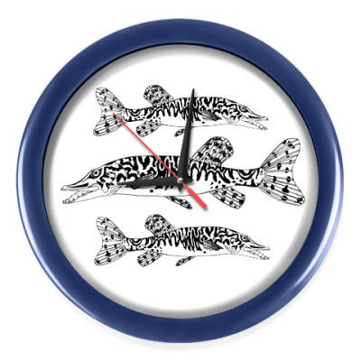 Настенные часы Водный мир