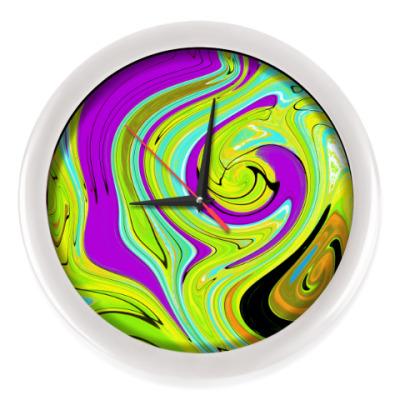 Настенные часы Абстракци
