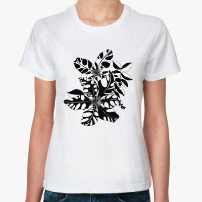 Классическая футболка Клематис