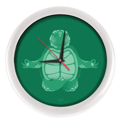 Настенные часы Animal Zen: T is for Turtle