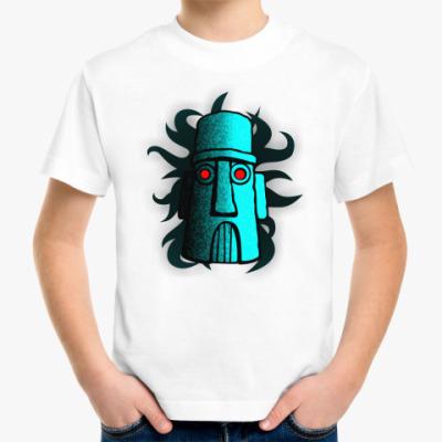 Детская футболка дом сквида