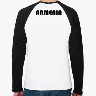 Футболка реглан с длинным рукавом  Мужск ARMENIA