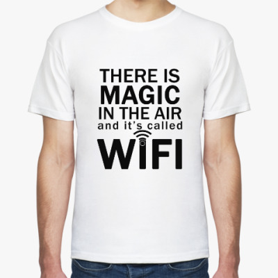 Футболка Magic of WIFI