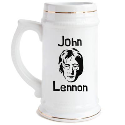 Пивная кружка Джон Леннон