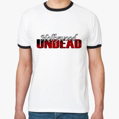 Футболка Ringer-T Hollywood Undead