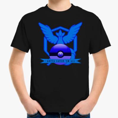 Детская футболка Pokemon GO/Покемон ГО/Mystic child