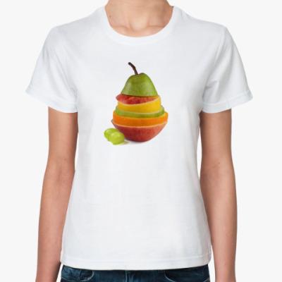 Классическая футболка Creative fruits