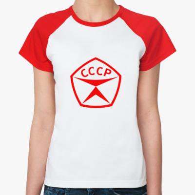 Женская футболка реглан  'Знак качества'