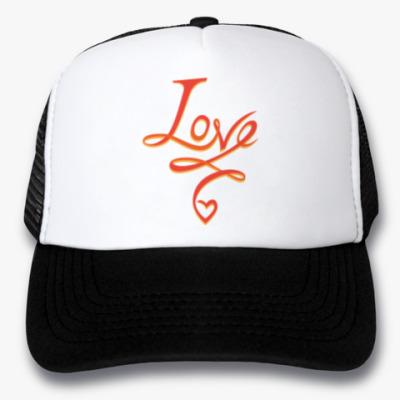 Кепка-тракер LOVE