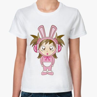 Классическая футболка Девочка