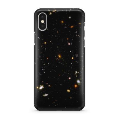 Чехол для iPhone X Вселенная. Галактики. Космос.