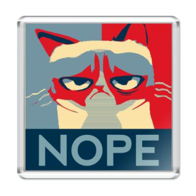 Магнит Grumpy cat - NOPE
