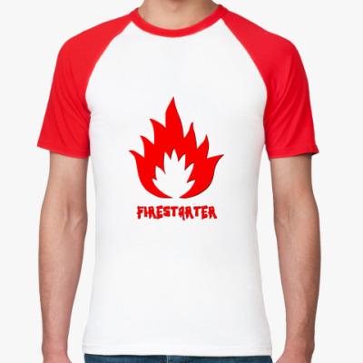 Футболка реглан  Firestarter