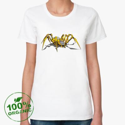 Женская футболка из органик-хлопка Spider