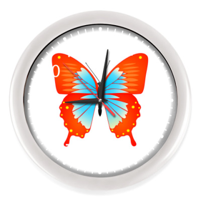 Настенные часы Бабочка счастья