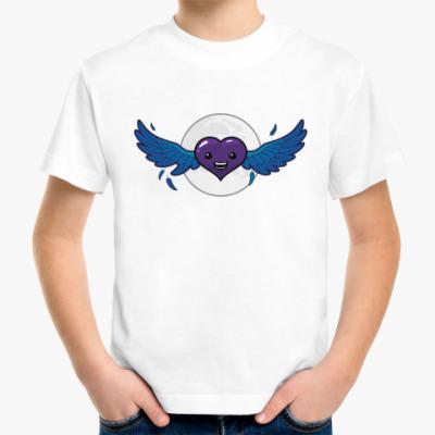 Детская футболка сердце-вампир