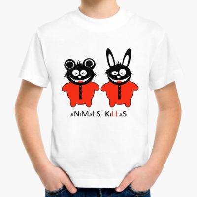 Детская футболка Animals Killas