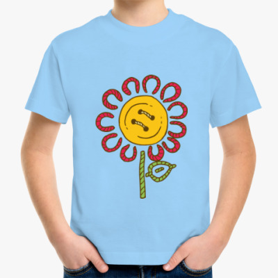 Детская футболка Цветок