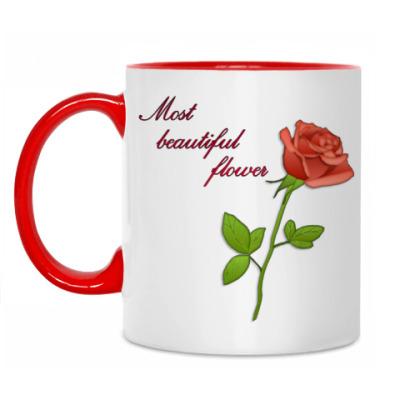 Кружка Beautiful flower