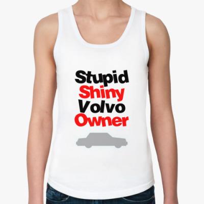 Женская майка Volvo owner