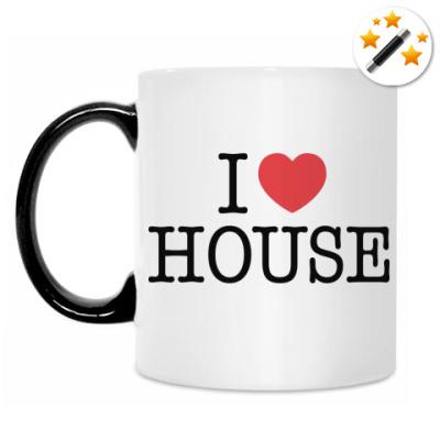 Кружка-хамелеон I love House