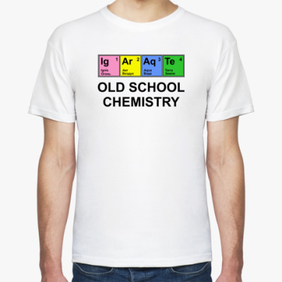 Футболка Old school chemistry