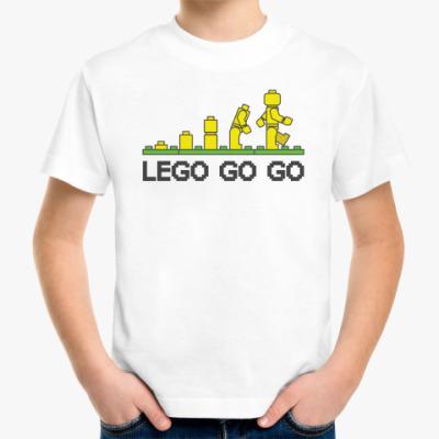 Детская футболка  Lego go