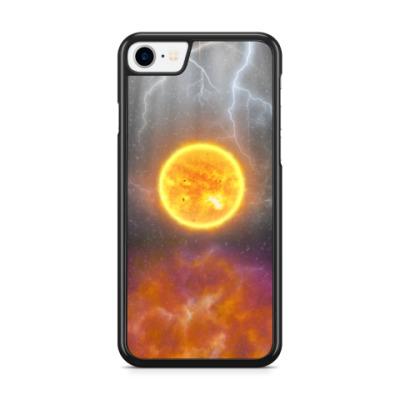 Чехол для iPhone Буря на солнце