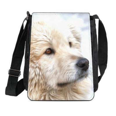 Сумка-планшет Собака