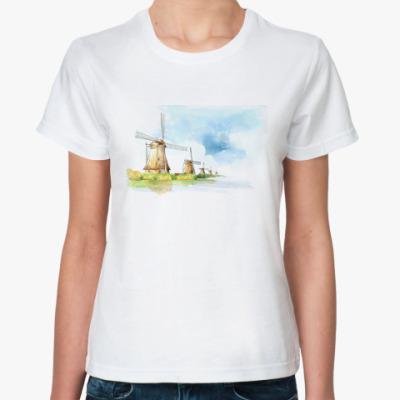 Классическая футболка Мельницы