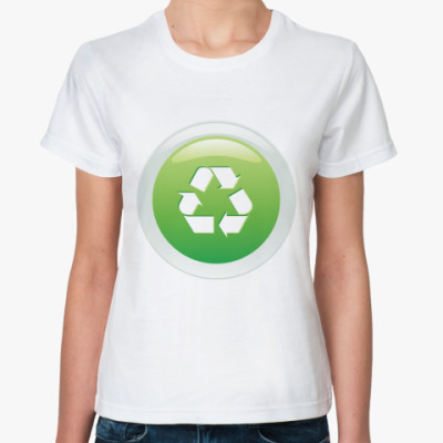 Классическая футболка Из вторсырья