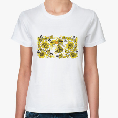 Классическая футболка   'Жар-птица'