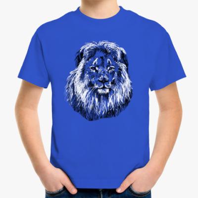 Детская футболка Лев