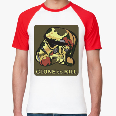Футболка реглан Clone