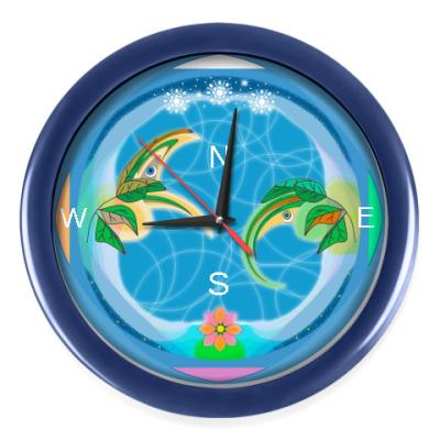 Настенные часы Стороны света