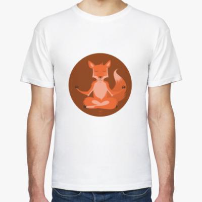 Футболка Animal Zen: F is for Fox