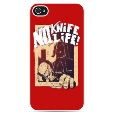 Чехол для iPhone o Knife — No Life!