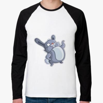 Футболка реглан с длинным рукавом    Кролик