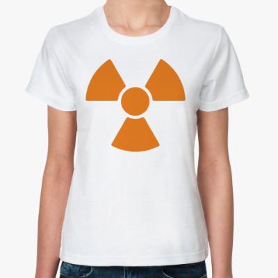 Классическая футболка radioactive